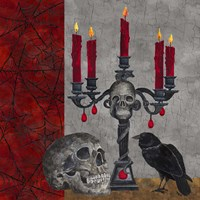 Something Wicked Candlelabra Fine-Art Print