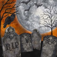 Something Wicked Graveyard II RIP Fine-Art Print