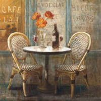 Meet Me at Le Cafe I Fine-Art Print