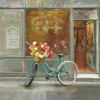 French Flowershop v2 Fine-Art Print