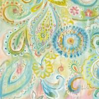 Spring Dream Paisley XII Fine-Art Print