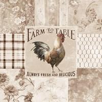 Farm Nostalgia I Neutral Fine-Art Print