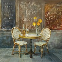 French Cafe Fine-Art Print