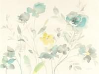 Aqua Roses Fine-Art Print