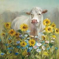 Farm and Field I v2 Crop Fine-Art Print
