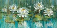 Water Lily Pond Crop Fine-Art Print
