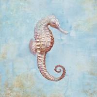Treasures from the Sea I Watercolor Fine-Art Print