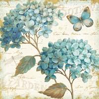 Blue Garden V Fine-Art Print