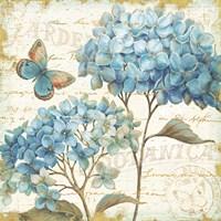 Blue Garden IV Fine-Art Print