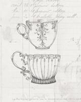 Authentic Coffee IV White Gray Fine-Art Print