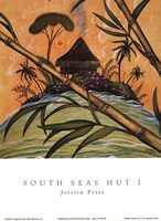 South Seas Hut I Fine-Art Print