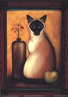 Framed Cat I Fine-Art Print