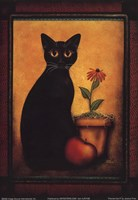 Framed Cat II Fine-Art Print