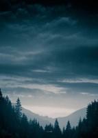 Blue Mountains IV Fine-Art Print