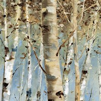 White Forest III Fine-Art Print