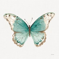 Colorful Breeze XII with Teal Fine-Art Print