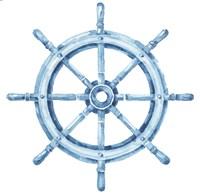 Sea Life Wheel no Border Fine-Art Print