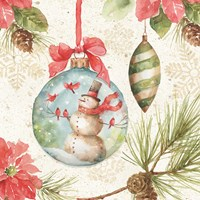 Woodland Holiday IV Fine-Art Print