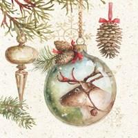 Woodland Holiday III Fine-Art Print