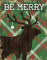Simple Living Holiday Elk Fine-Art Print