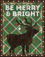 Simple Living Holiday Be Merry Fine-Art Print