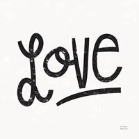 Love is Grand Square I Fine-Art Print