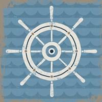 Nautical Helm Fine-Art Print