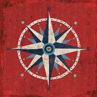 Nautical Love Compass Fine-Art Print