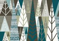 Geometric Forest Fine-Art Print
