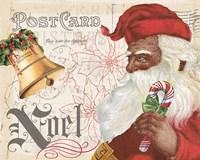 Antique Holiday II Santa Fine-Art Print