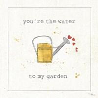 Garden Notes I Fine-Art Print