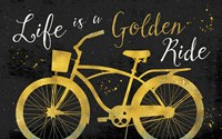 Golden Ride III Dark Fine-Art Print