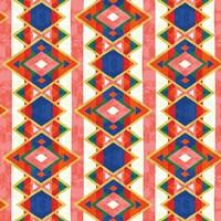 Wild Wood Tiles IV Bright Fine-Art Print