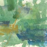 Blue Accent I Fine-Art Print