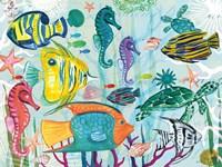 Tropical Underwater V Fine-Art Print