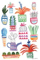 Funky Cacti II Fine-Art Print