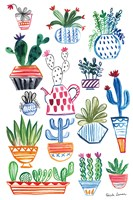 Funky Cacti I Fine-Art Print