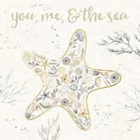 Seaside Blossoms II Neutral Fine-Art Print