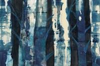 Deep Woods III Indigo Fine-Art Print