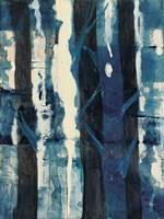 Deep Woods II Indigo Fine-Art Print