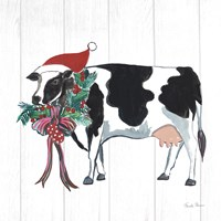Holiday Farm Animals IV Fine-Art Print