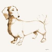 Clio Brown and Orange Fine-Art Print