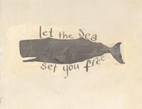 Whale Element Words v2 Fine-Art Print