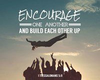 Encourage One Another - Celebrating Team Fine-Art Print