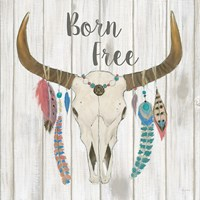 Bohemian Rising I no Border Born Free Fine-Art Print