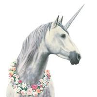 Spirit Unicorn I Square Fine-Art Print