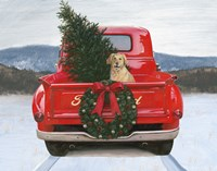 Christmas in the Heartland IV Ford Fine-Art Print