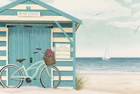 Beach Cruiser I Fine-Art Print
