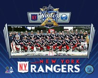 New York Rangers Team Photo 2018 NHL Winter Classic Fine-Art Print