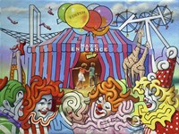 Circus Maze Fine-Art Print